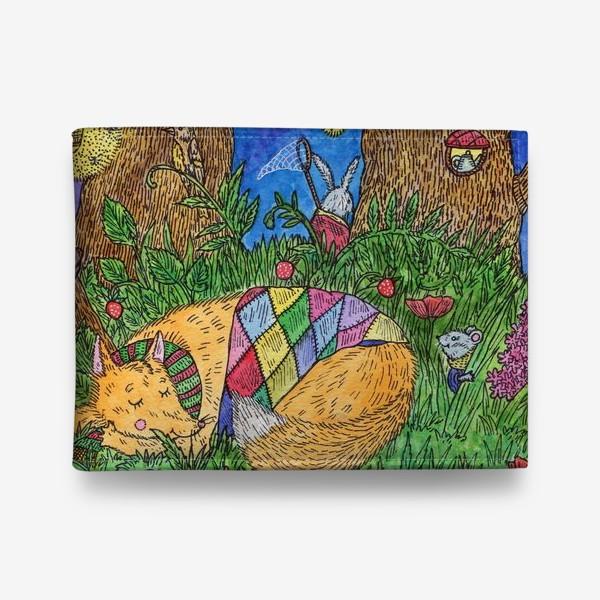 Кошелек «Колыбельная для маленького лиса»