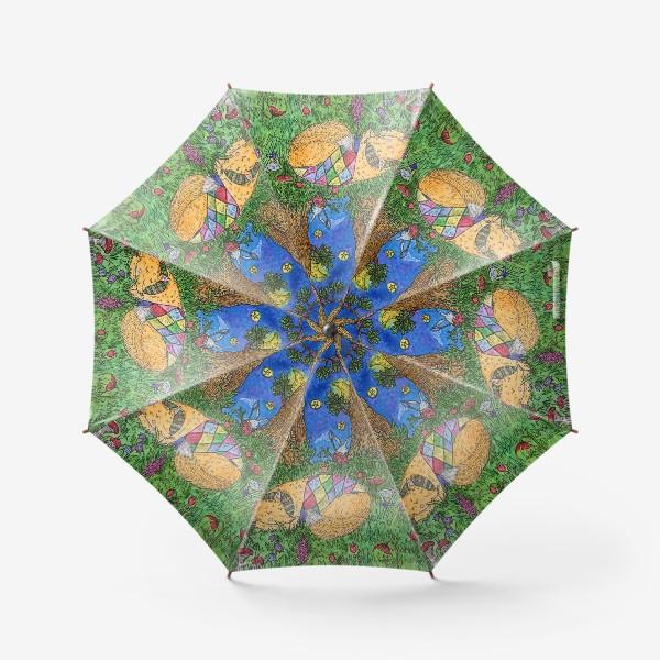 Зонт «Колыбельная для маленького лиса»