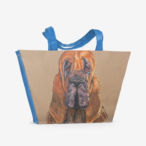 Пляжная сумка «Бладхаунд»