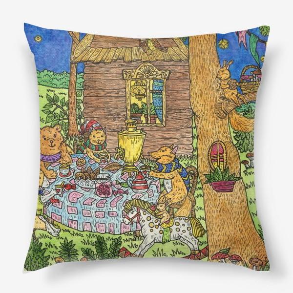 Подушка «Веселое чаепитие»