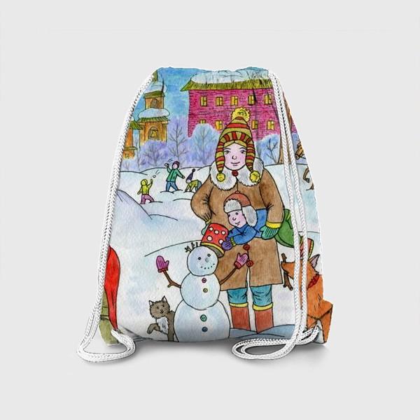 Рюкзак «Зимняя прогулка»
