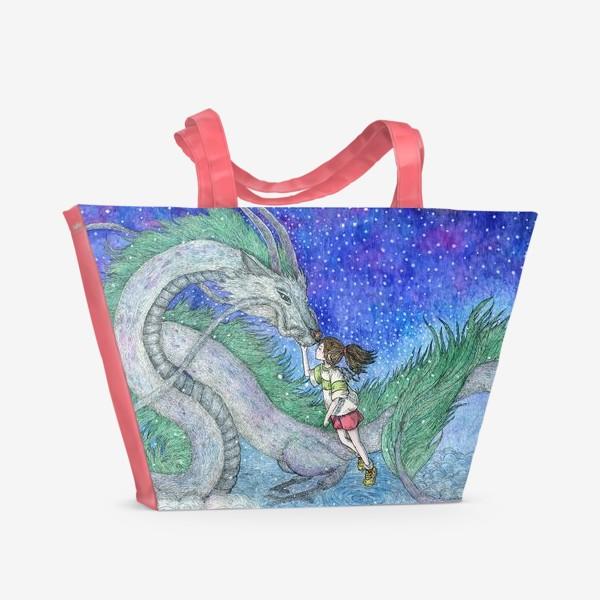 Пляжная сумка «Унесённые призраками»