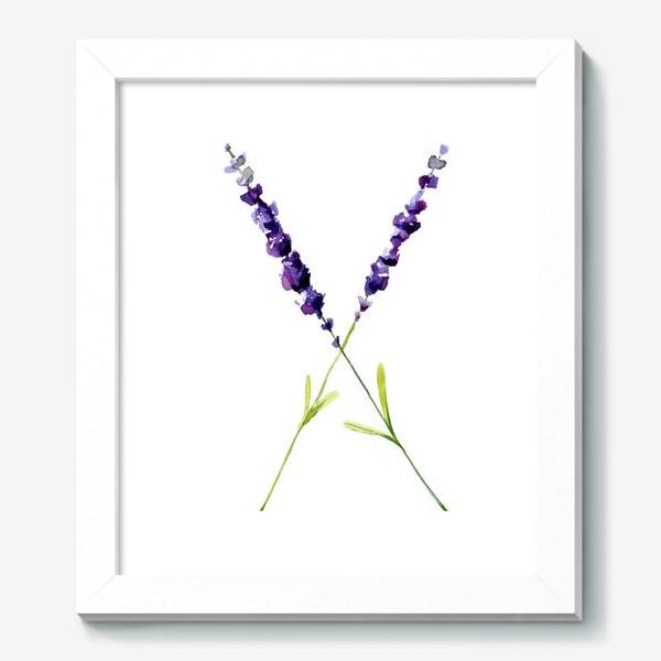Картина «веточки лаванды»