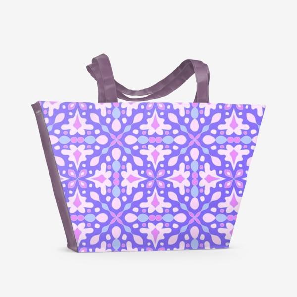 Пляжная сумка «Абстрактный орнамент»