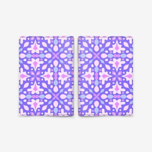 Обложка для паспорта «Абстрактный орнамент»
