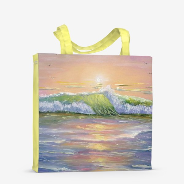 Сумка-шоппер «Восход над морем»