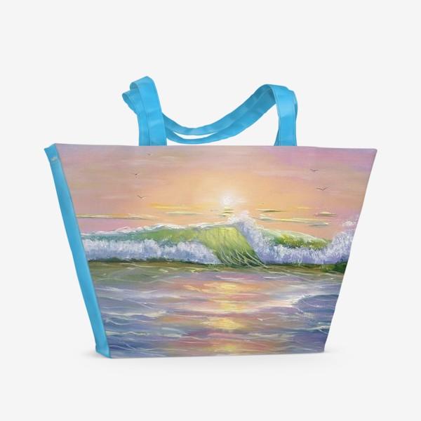 Пляжная сумка «Восход над морем»