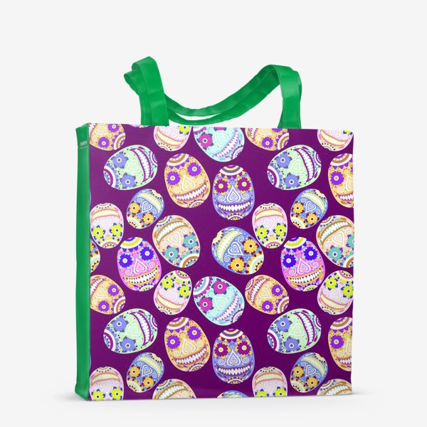 Сумка-шоппер «Веселые мексиканские черепа. Праздник смерти»
