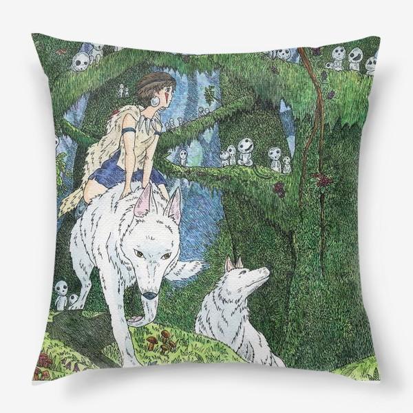 Подушка «Принцесса Мононоке»