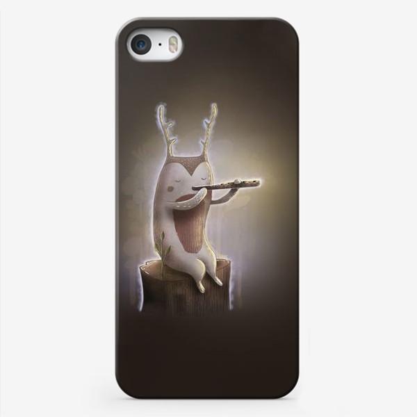 Чехол iPhone «Лесной музыкант»
