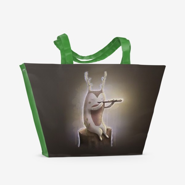 Пляжная сумка «Лесной музыкант»
