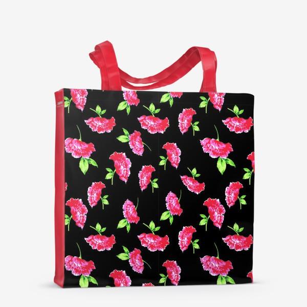 Сумка-шоппер «цветы»