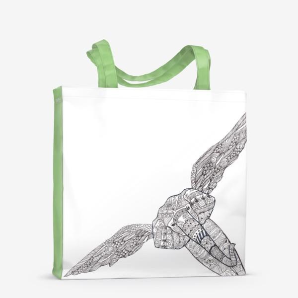 Сумка-шоппер «Воздушный слон»