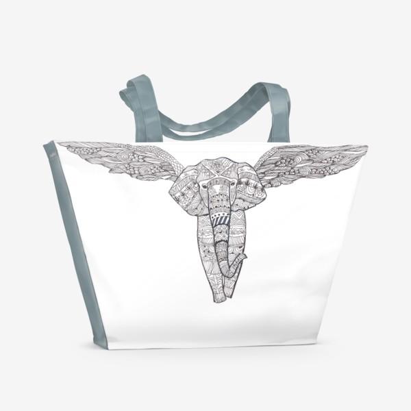 Пляжная сумка «Воздушный слон»