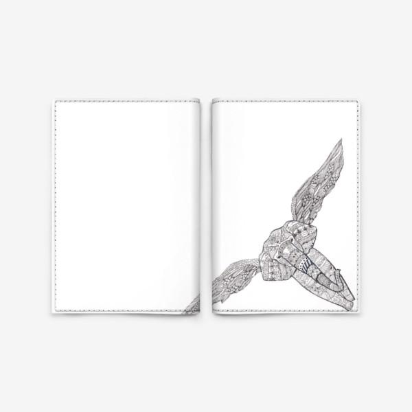 Обложка для паспорта «Воздушный слон»