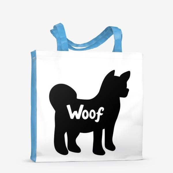Сумка-шоппер «Акита (Маламут). Любителям собак.»