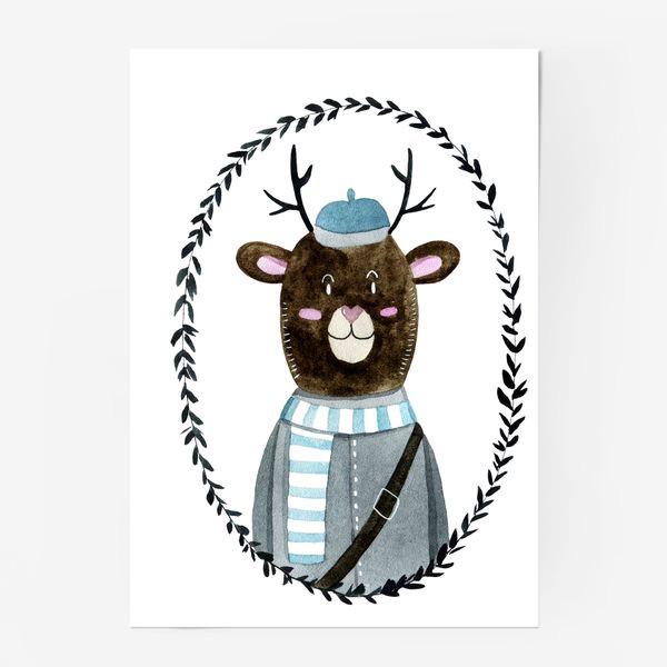 Постер «Олешек»