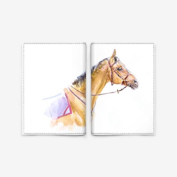 Обложка для паспорта «Портрет донского жеребца»
