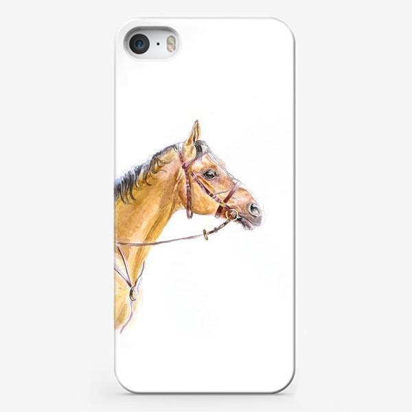 Чехол iPhone «Портрет донского жеребца»