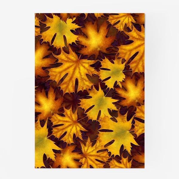 Постер «листопад»
