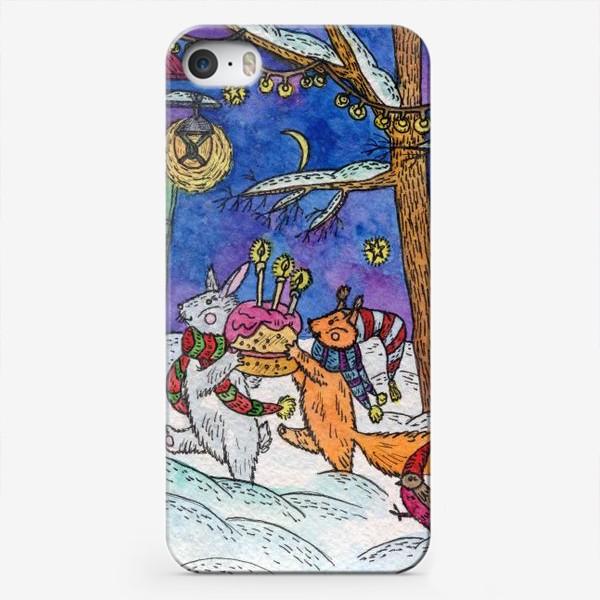 Чехол iPhone «С Днём рождения!»