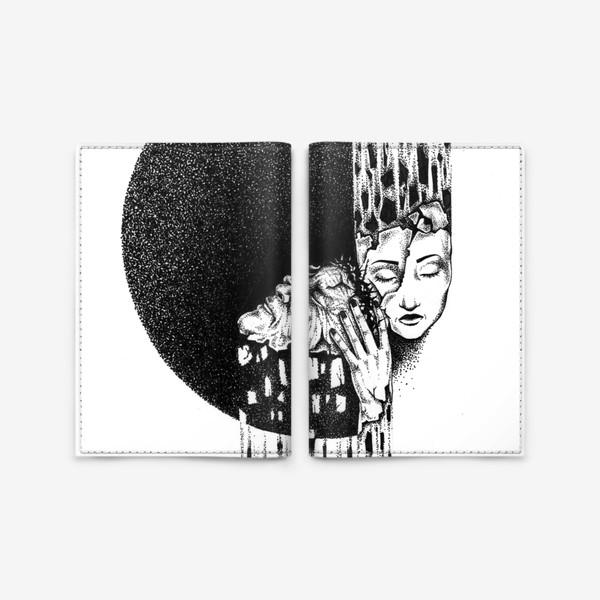 Обложка для паспорта «Разлука»