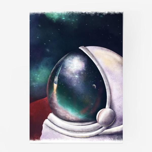 Постер «космонавт»