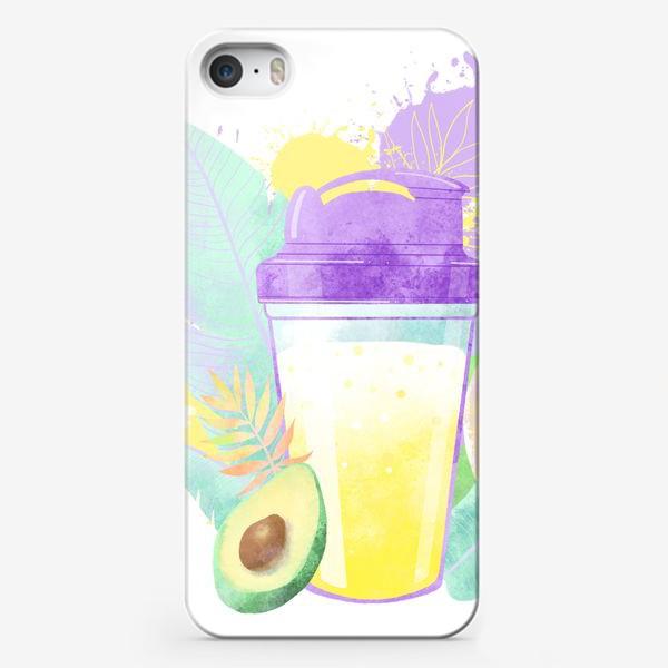 Чехол iPhone «PROTEIN SHAKE»