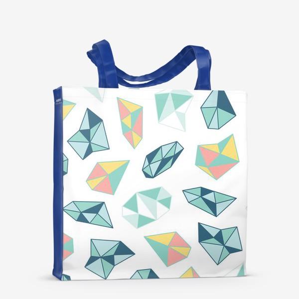 Сумка-шоппер «Цветные кристаллы»
