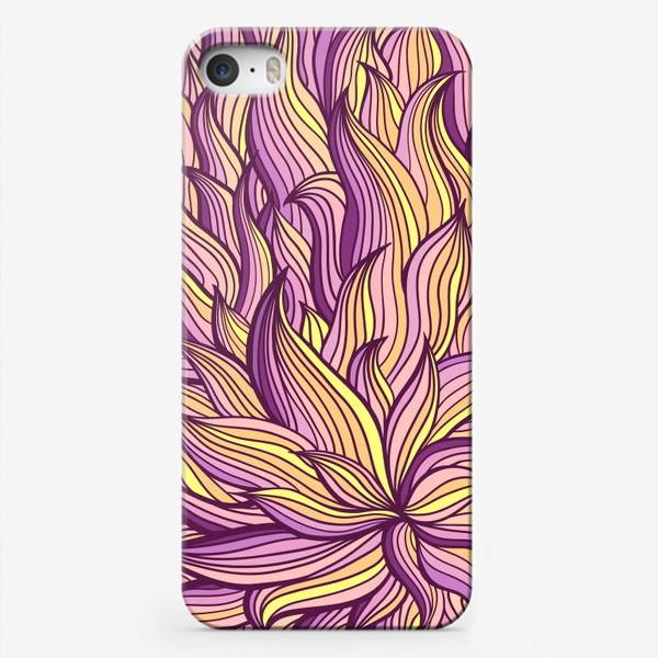 Чехол iPhone «Растительный узор»