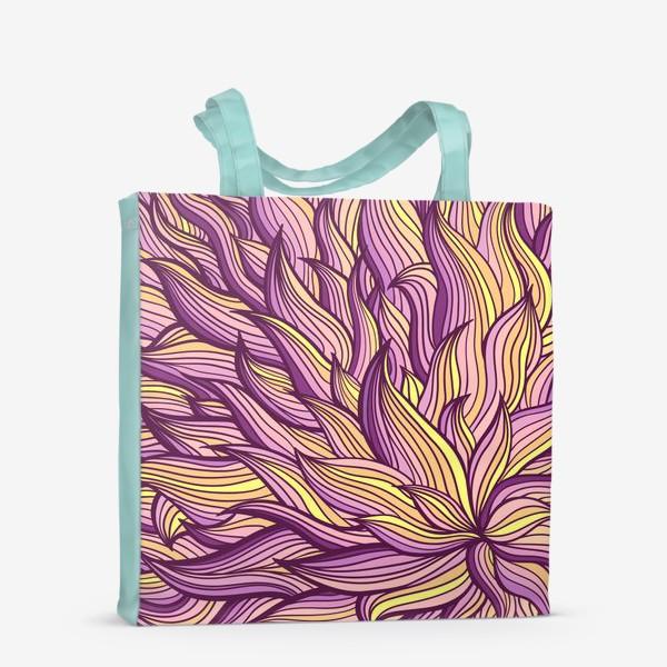 Сумка-шоппер «Растительный узор»