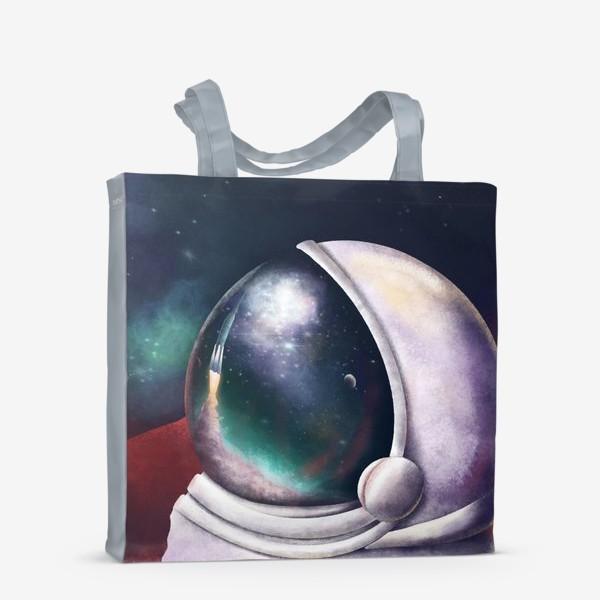 Сумка-шоппер «космонавт»