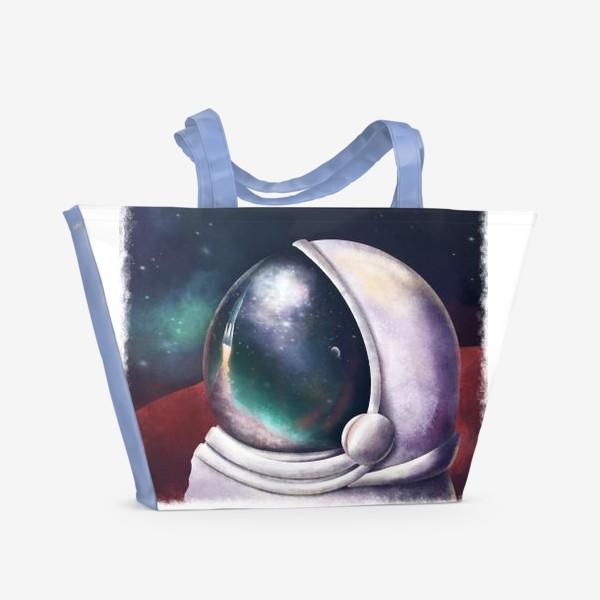 Пляжная сумка «космонавт»