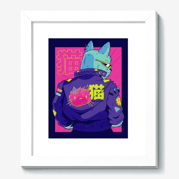 Картина «Киберпанк Кот»
