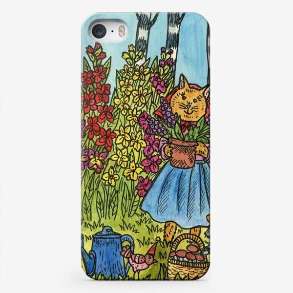 Чехол iPhone «С праздником!»