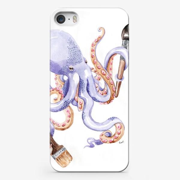 Чехол iPhone «Осминог творчества»