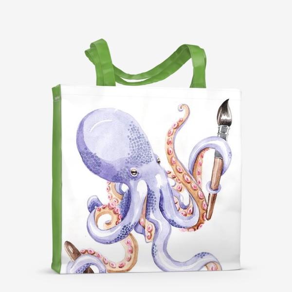 Сумка-шоппер «Осминог творчества»