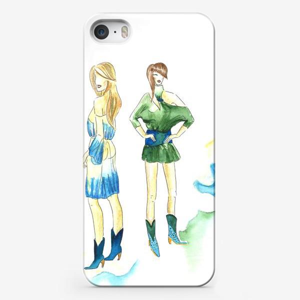 Чехол iPhone «fashion girls»