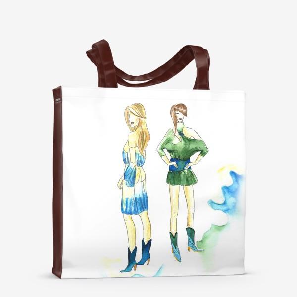 Сумка-шоппер «fashion girls»