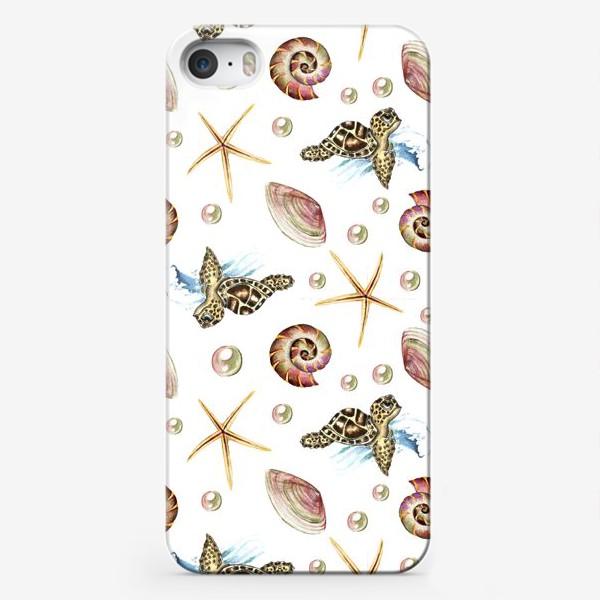 Чехол iPhone «черепашки»
