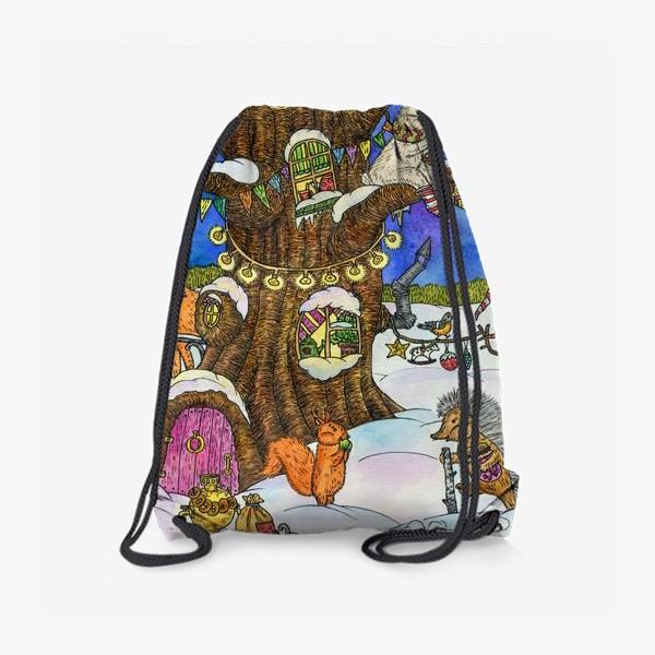 Рюкзак «Веселый Новый год»
