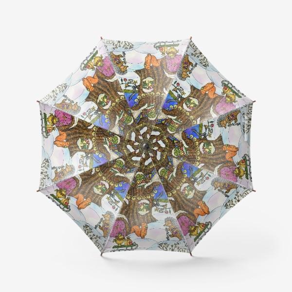 Зонт «Веселый Новый год»