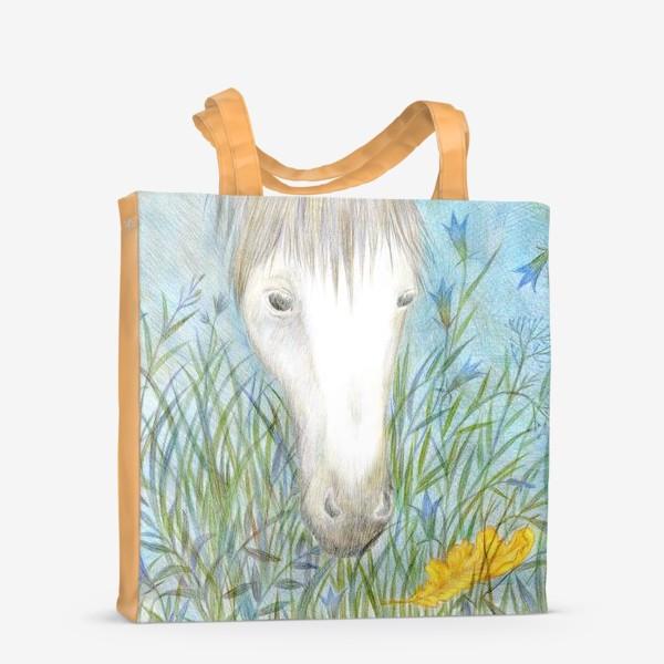 Сумка-шоппер «Белая лошадь»