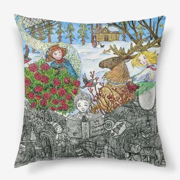 Подушка «Снежная королева»