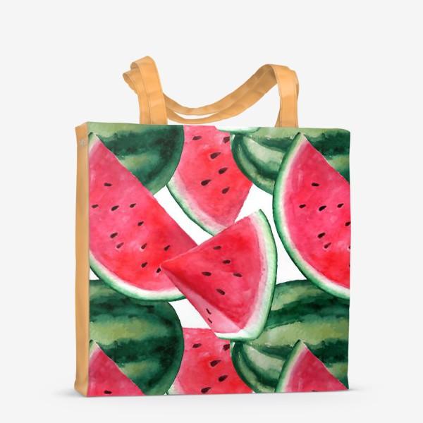 Сумка-шоппер «Арбузное лето»