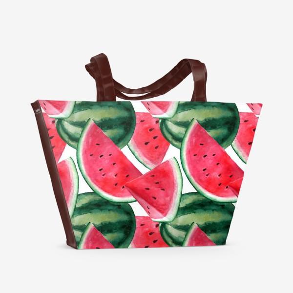 Пляжная сумка «Арбузное лето»