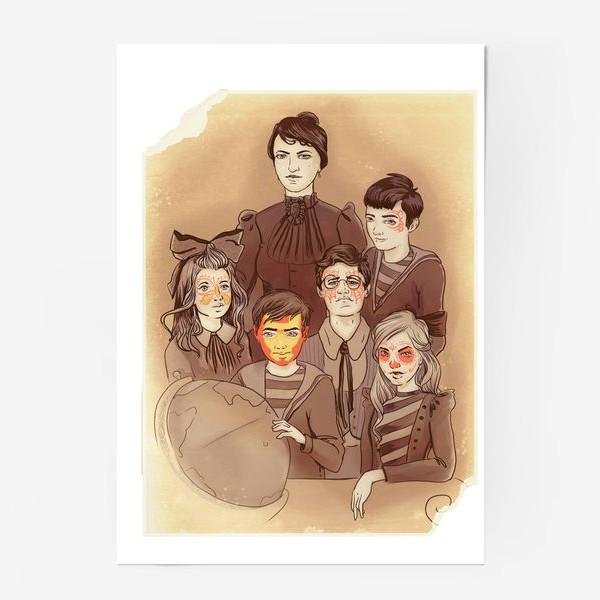 Постер «снова в школу»