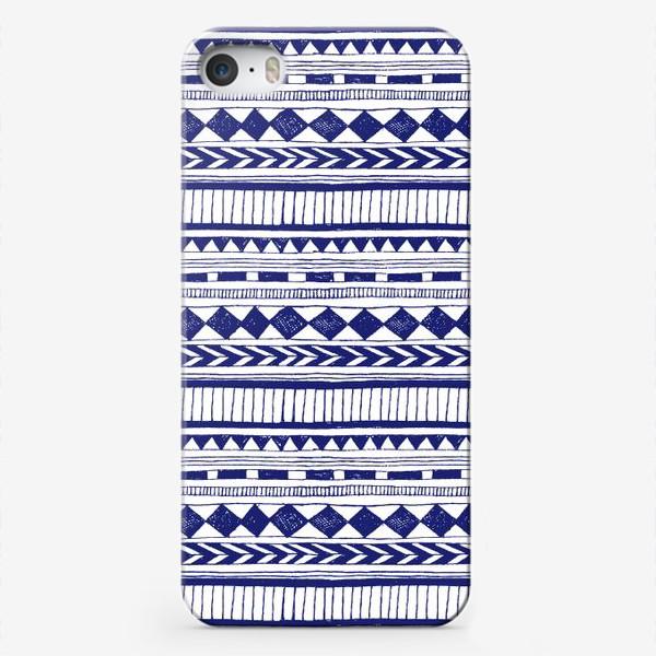 Чехол iPhone «Етно дудлы»