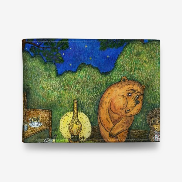 Кошелек «Ежик в тумане и медвежонок»