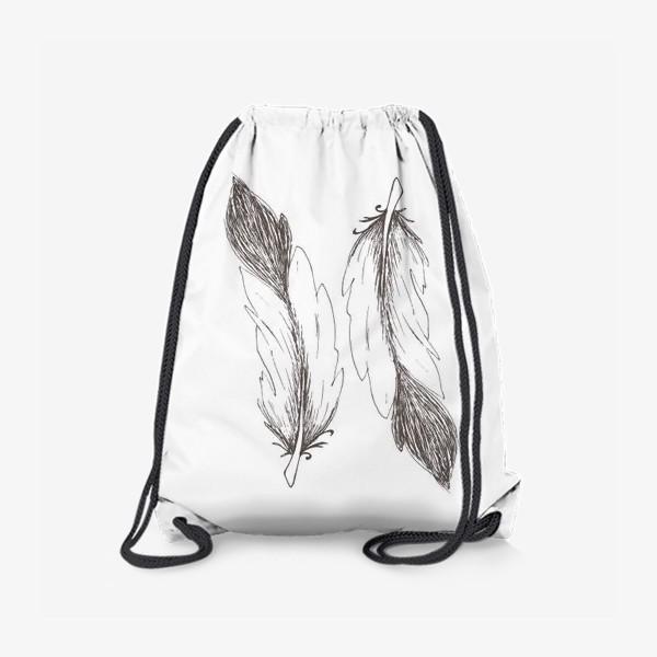 Рюкзак «Перья»